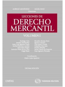 Permacultivo.es Lecciones De Derecho Mercantil, Tomo I (10ª Ed.) Image
