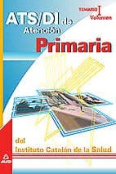 Bressoamisuradi.it Ats/di De Atencion Primaria: Temario (Vol.i): Instituto Catalan D E Salud Image