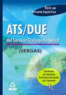 Inmaswan.es Ats/due Del Servicio Gallego De Salud (Sergas) Test Temario Espec Ifico Image