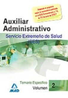 Inmaswan.es Personal Especifico Auxiliar Administrativos (Ses) (Vol. Iii) Image