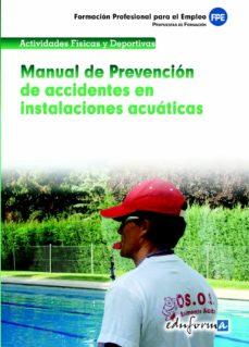 Trailab.it Manual De Prevencion De Accidentes En Instalaciones Acuaticas: Pr Opuestas De Formacion. Formacion Profesional Para El Empleo Image