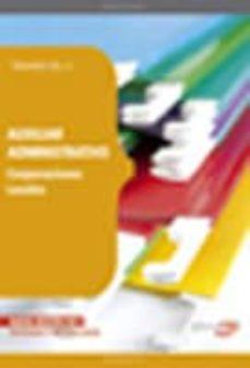 Canapacampana.it Auxiliar Administrativo De Corporaciones Locales. Temario Vol. Ii Image