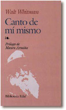 Descargas de mobi ebook (IBD) CANTO DE MI MISMO (2ª ED.) 9788471668165