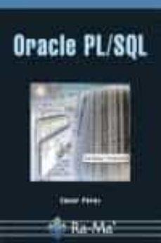 oracle pl/sql-cesar perez lopez-9788478978465