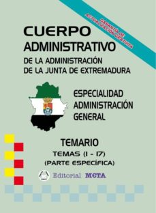 ADMINISTRATIVOS ADMINISTRACIÓN GENERAL (TEMAS 1 - 17) (TEMARIO) - VV.AA. | Triangledh.org