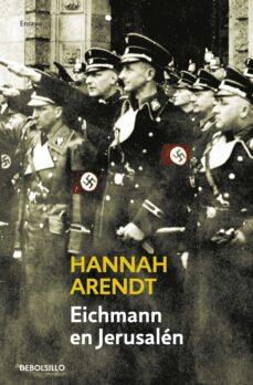 eichmann en jerusalen-hannah arendt-9788483460665