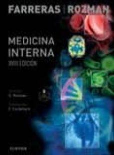 Libros electrónicos para descargar gratis FARRERAS ROZMAN. MEDICINA INTERNA + STUDENTCONSULT EN ESPAÑOL (18º ED)