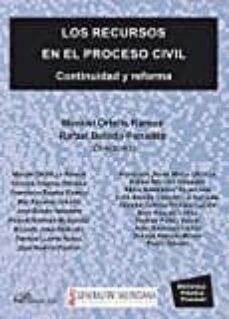 los recursos en el proceso civil-manuel ; ortells ramos-9788491480365