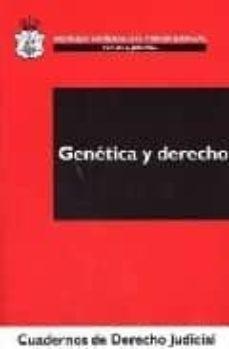 Descargar libros electrónicos búsqueda de libros de Google GENETICA Y DERECHO 9788496228665