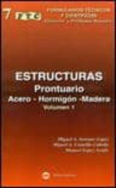 Mrnice.mx Formulario. Prontuario De Estructuras (Vol.i) Image