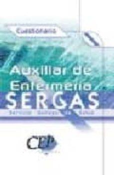Chapultepecuno.mx Auxiliar De Enfermeria Del Servicio Gallego De Salud (Sergas): Cu Estionario Image