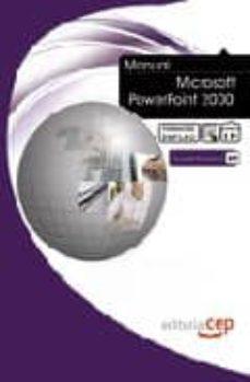 Enmarchaporlobasico.es Manual Microsoft Powerpoint 2000. Formacion Para El Empleo Image