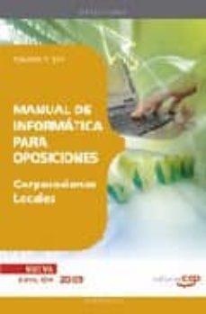 Bressoamisuradi.it Manual De Informatica Para Oposiciones De Corporaciones Locales. Temario Y Test Image