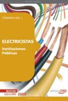 Geekmag.es Electricistas Instituciones Publicas. Temario Vol. I. Image