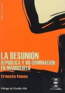 Permacultivo.es Las Desunion: Republica Y No Dominacion En Maquiavelo Image