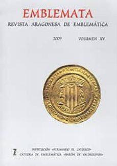 Srazceskychbohemu.cz Emblemata Vol.xv: Revista Aragonesa De Emblematica Image