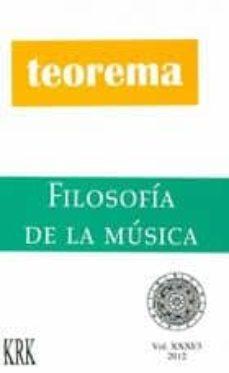 Vinisenzatrucco.it Teorema Vol. Xxxi/3. Filosofia De La Musica Image
