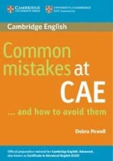 common mistakes at cae and how to avoid them-debra powell-9780521603775