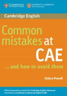 Descarga gratuita de libros de audio para ipod COMMON MISTAKES AT CAE AND HOW TO AVOID THEM  de DEBRA POWELL