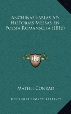 Inmaswan.es Anchinas Fablas Ad Historias Messas En Poesia Romanscha (1816) Image