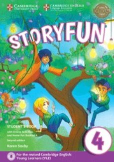 Ebooks gratuitos descargables gratis STORYFUN FOR MOVERS (2ND EDITION - 2018 EXAM) 1 STUDENT S BOOK WITH ONLINE ACTIVITIES & HOME FUN BOOKLET 9781316617175  (Spanish Edition) de