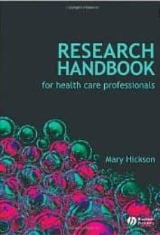 Pdf descargar libros gratis RESEARCH HANDBOOK FOR HEALTH CARE PROFESSIONALS