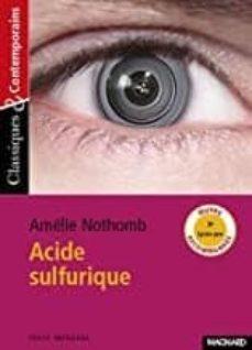Google libros y descarga ACIDE SULFURIQUE en español