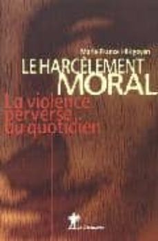 harcelement moral-marie-france hirigoyen-9782707141675