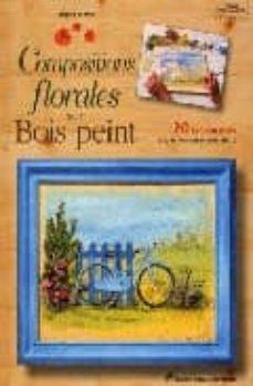 compostions florales sur bois peint: 20 tableautins avec patrons grandeur reelle-brigitte le dilly-9782841671175