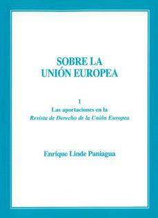 sobre la union europea-enrique linde paniagua-9788409036875