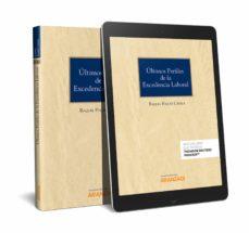 Descargar libros de kindle gratis para mac ÚLTIMOS PERFILES DE LA EXCEDENCIA LABORAL de RAQUEL. POQUET CATALÁ
