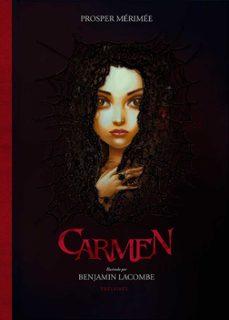 carmen-prosper merimee-benjamin lacombe-9788414009475