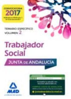 Javiercoterillo.es Trabajadores Sociales De La Junta De Andalucia: Temario Especifico (Vol. 2) Image