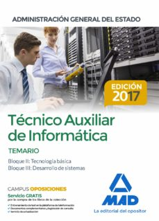 Bressoamisuradi.it Tecnico Auxiliar De Informatica De La Administracion General Del Estado. Temario Bloques Ii, Iii Image