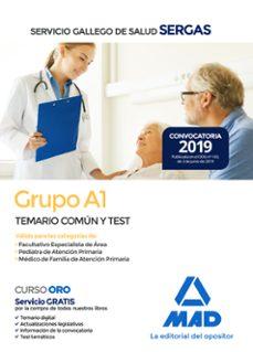 Inmaswan.es Grupo A1 Del Servicio Gallego De Salud. Temario Común Y Test Image