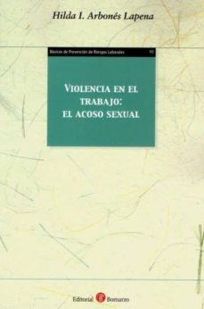 Descargas de libros electrónicos gratis para kindle pc VIOLENCIA EN EL TRABAJO. EL ACOSO SEXUAL.