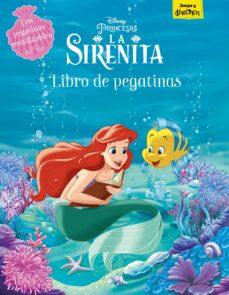 la sirenita. libro de pegatinas-9788417529475
