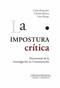 Foro descargar gratis ebook LA IMPOSTURA CRITICA  (Spanish Edition) 9788417600075