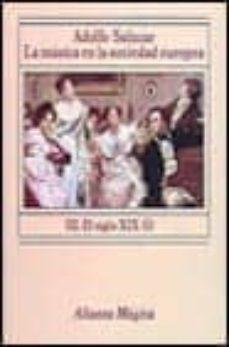 Permacultivo.es La Musica En La Sociedad Europea: El Siglo Xix. Primera Epoca (Vo L Iii) (2ª Ed.) Image
