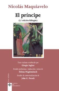 EL PRINCIPE: DE PRINCIPATIBUS (ED. BILINGÜE)