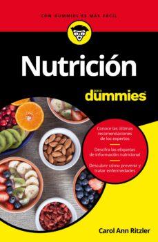 nutricion para dummies-carol ann rinzler-9788432903175