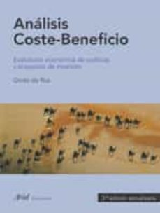Descargar ANALISIS COSTE-BENEFICIO:  EVALUACION ECONOMICA DE POLITICAS Y PR YECTOS DE INVERSION (3º ED. ACTUALIZADA) gratis pdf - leer online
