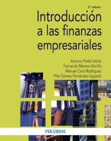 introducción a las finanzas empresariales (ebook)-antonio partal ureña-fernando moreno bonilla-9788436835175