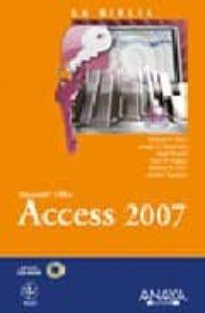 Descargar LA BIBLIA DE ACCESS 2007 gratis pdf - leer online