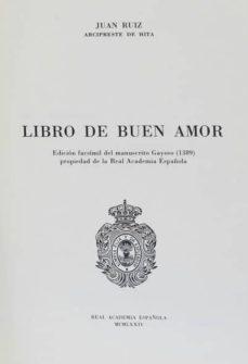 Descargas gratuitas de libros electrónicos en mp3 LIBRO DEL BUEN AMOR (Spanish Edition) PDF de ARCIPRESTE DE HITA 9788450202175