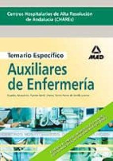 Upgrade6a.es Centros Hospitalarios De Alta Resolucion De Andalucia (Chares): T Emario Especifico De Auxiliares De Enfermeria Image