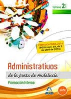 Permacultivo.es Administrativos De La Junta De Andalucia. Promocion Interna. Volumen Ii Image
