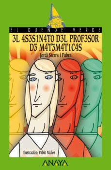 el asesinato del profesor de matemáticas (ebook)-jordi sierra i fabra-9788467842975