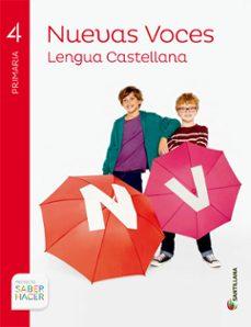 Geekmag.es Lengua 4º Primaria Nuevas Voces Saber Hacer Ed 2015 Image