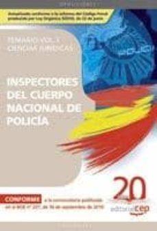 Bressoamisuradi.it Inspectores Del Cuerpo Nacional De Policia Ciencias Juridicas: Te Mario Vol.i Image